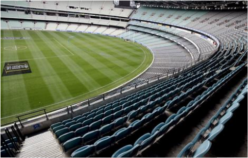 Size and Capacity - MCG, The History